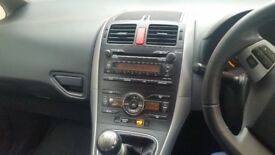 Toyota Auris 60 plate low mileage very good condition
