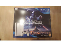 playstation 4 slim with star wars battlefront 2 brand new sealed