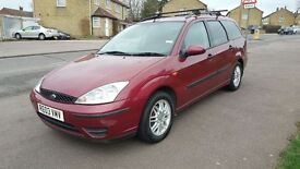 FORD FOCUS 1.6 5 DOOR MANUAL, VERY GOOD DRIVE, GOOD CONDITION, HPI CLEAR, A/C,LOW MILEAGE, 4 GOOD TY