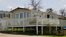 Sea View Holiday Home ABI 2013, 3 bedrooms, wide decking. Gets Sun all day.