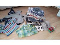 Amazig bargain bundle of baby boys clothes