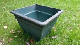 Large plastic garden pot