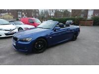 BMW E93 330i Convertible M Sport Le Mans Blue
