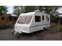 Swift Lifestyle 500 5 Berth 2001. Power Touch mover, 2 awnings, alko hitch & lock