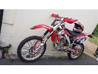 Honda CRF 450R 2005 Road Registered Signed & Rode By Josh Coppins