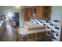 Oak kitchen for sale