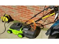 Challenge corded rotary lawnmower