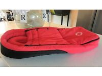 BUGABOO RED & BLACK BABY COCOON