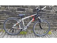 Mountain bike to suit 10 - 15 year old or small adult