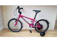 Child's Bike; Islabike Cnoc 16 girl's bicycle. Excellent condition