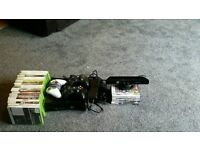 Xbox 360 bundle with Kinect and 28 games and more