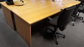 3 Office Desks in Good Condition