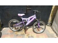 GIRLS AVIGO BIKE 20'WHEELS 7YRS+