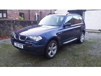 Reduced price! BMW X3 4X4 leather heated seats, tow bar
