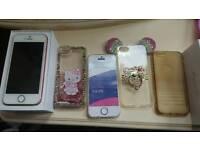 Iphone SE Gold Rose 16 Gb unlocked