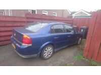 Vauxhall vectra for parts or fixed