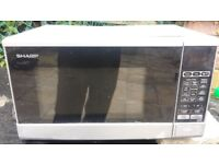 Sharp 800W Microwave - Can deliver locally -