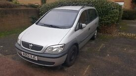 Vauxhall Zafira MOT Failure Parts/Spares/Repair