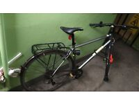 Pinnacle Neon One 2015 - hybrid bike - 50cm frame large + Airbus Ultimate D-Lock