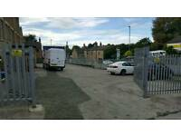 Large Gated car park available for rent off Gelderd Road