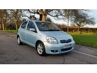 TOYOTA YARIS 1.3 T SPIRIT 2004 2F/KEEPER 79000 MILES FULL SERVICE HISTORY AIRCON SUNROOF ALLOYS 5DR