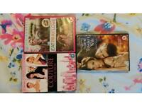 Chick Flick Dvds. Watched Once.