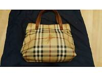 Genuine vintage Burberry handbag
