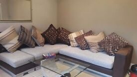 EXCELLENT CONDITION DFS CORNER SOFA SET RRP £2200