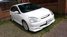 HONDA Civic Type R (JDM import) championship white