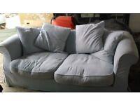 Duck Egg Blue Next Sofa