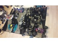 Rc nitro cars and spares