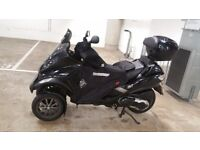 2008 Piaggio MP3 400 i.e. Black in 20.600Miles