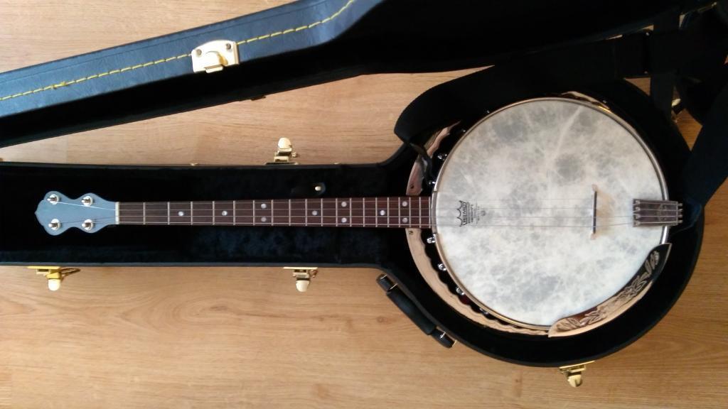 Lyon and Healy Tenor Banjo