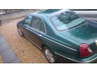 ROVER 75. Re-advertised due to time wasters. £1200 ono. Excellent condition throughout. Low mileage