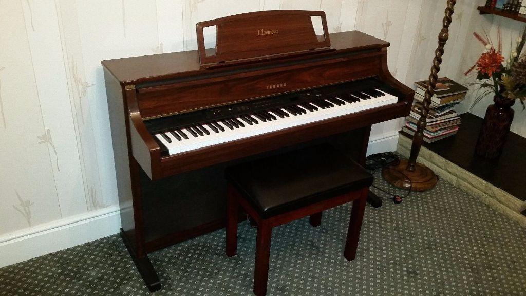 yamaha clavinova clp 880 high end digital piano superb