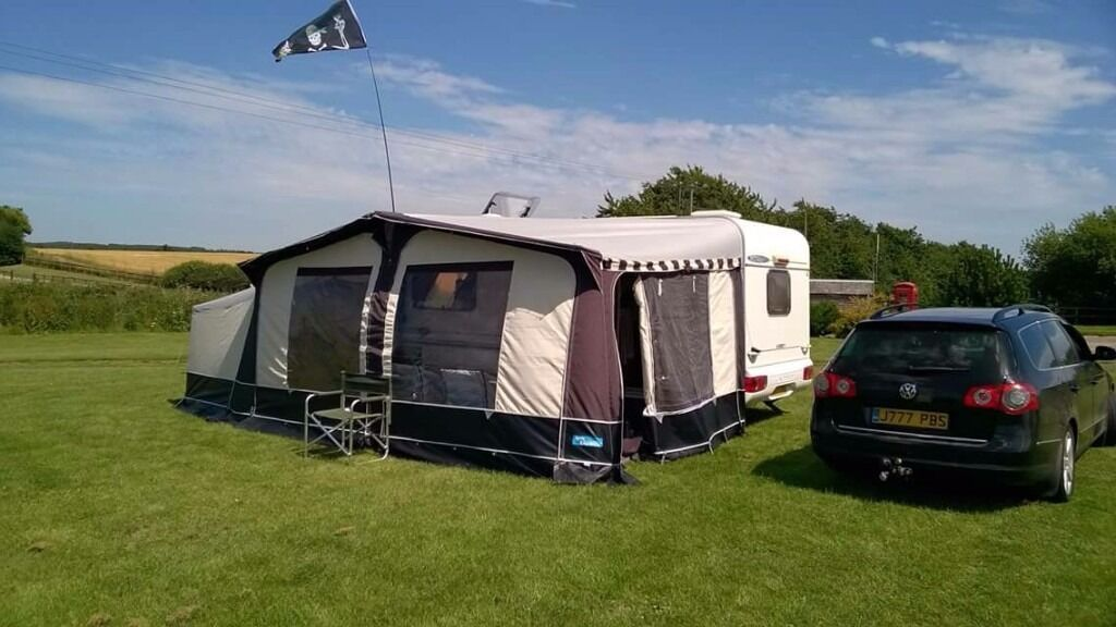 Kampa Carnival Awning Size 10 Good Condition Comes With Annex And Inner Double Bedroom