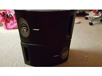 Bose 201V 201 V Direct/Reflecting Stereo Speaker System in Black