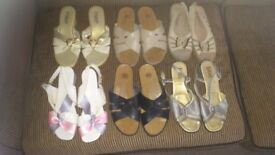 12 pairs of ladies shoes SIZE 5