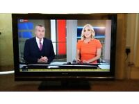 Sony Bravia 37 inch flat screen HD television with freeview in VGC