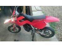 Malaguti 50cc kids mx crosser dirt bike