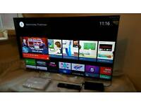 Sony 43 inch 3D smart led tv 43W805C (ANDROID TV) with built-in WIFI, voice command