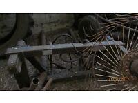 bale grabber farm implement