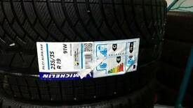 4 x brand new 235 35 19 Michelin alpin sport pa4 tyres
