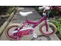 British Eagle Girls Mermaid pink bike