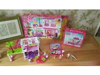Mega Bloks beach House & fashion stand