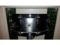 "Tama Metal Works Steel 14x5.5"" Snare Drum - Excellent Condition"