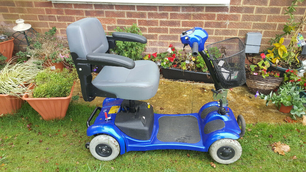 Portable Car Boot Mobility Scooter New Batteries