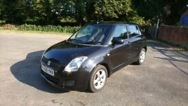 Swift Sale :) SUZUKI SWIFT 1.3 Metallic Black / Offers, Excellent Condition Low Miles, MOT Jan 2019