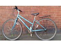 City Type Hybrid Bike with 700c Road Wheels