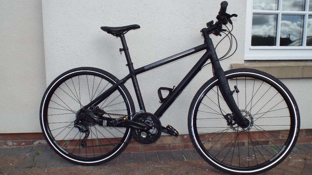 Giant Seek 0 Hybrid Mountain Bike Size Medium Mens Cycle In